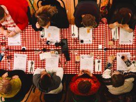 Adelaide Food Fringe. Dinner at a pop up restaurant.