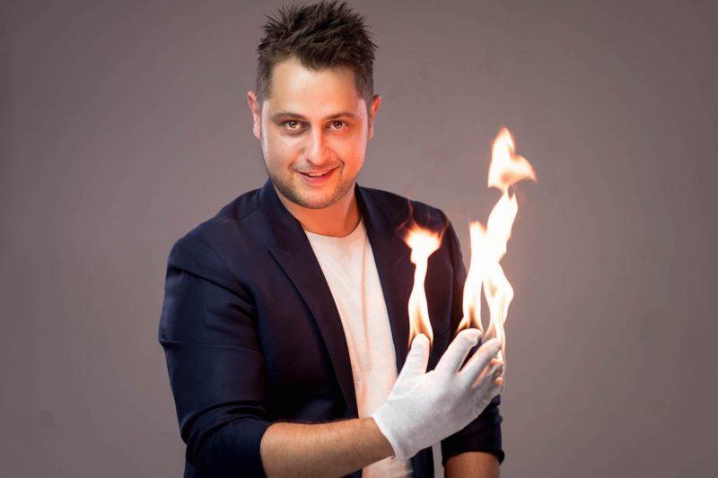Michael fire hands