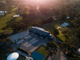 Adelaide Hills Convention Centre Aerial