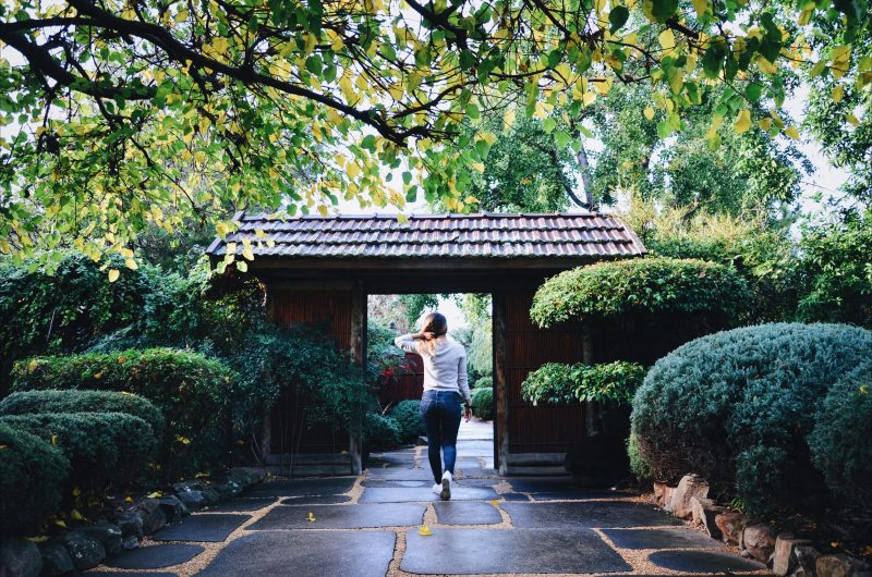 Tranquil, peace, garden, walk, Japanese, Sister City