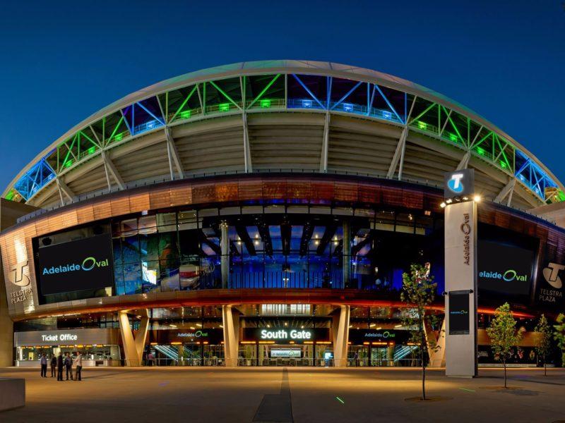 Adelaide Oval Telstra Plaza