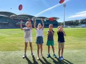 Adelaide Oval Kids Trail