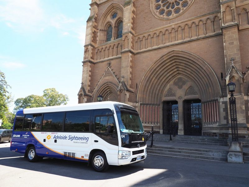 Adelaide Sightseeing at St Peters Cathedral