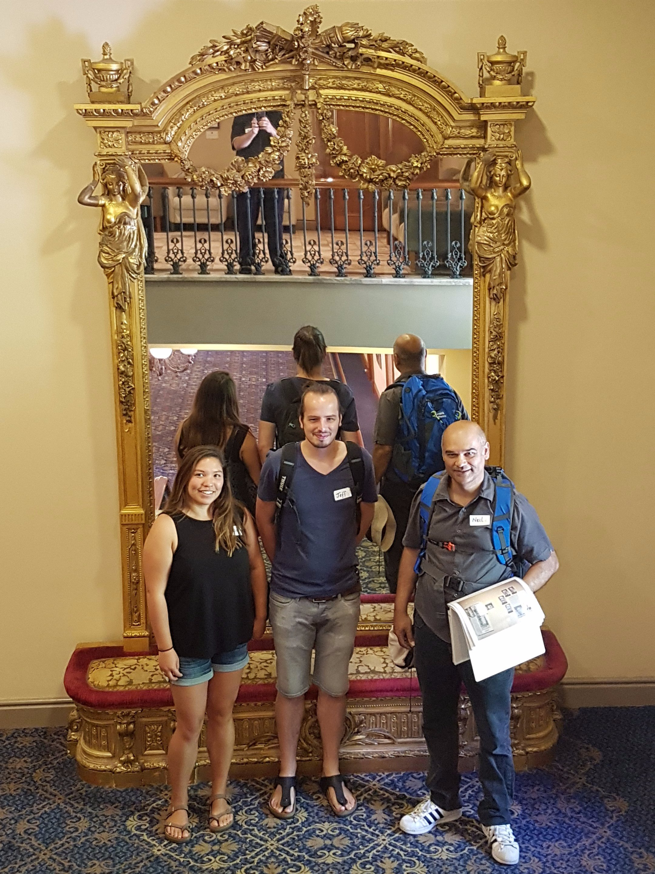 On one of the tours we visit the Town hall