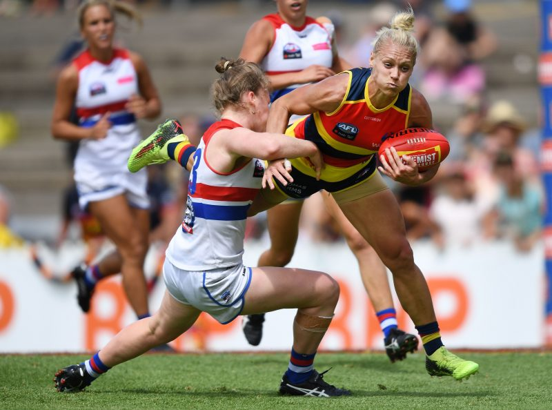 AFLW - Crows v Dogs
