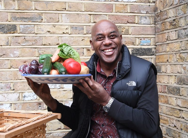 ainsley image with produce