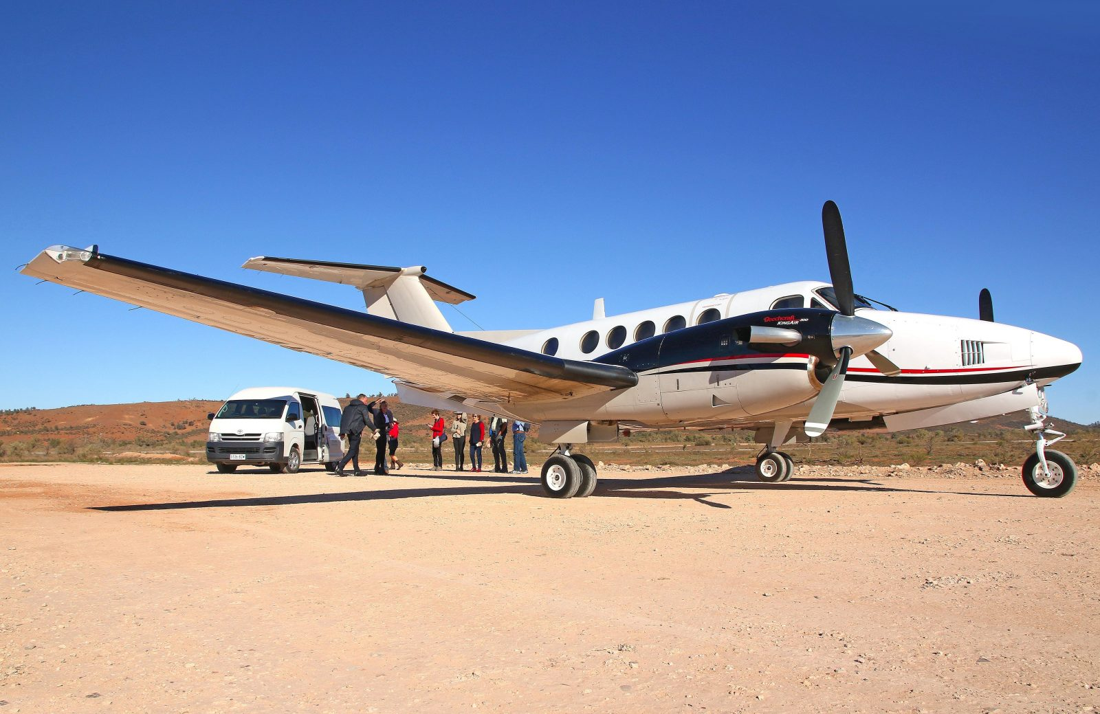 King Air, Flinders Ranges Air Touring