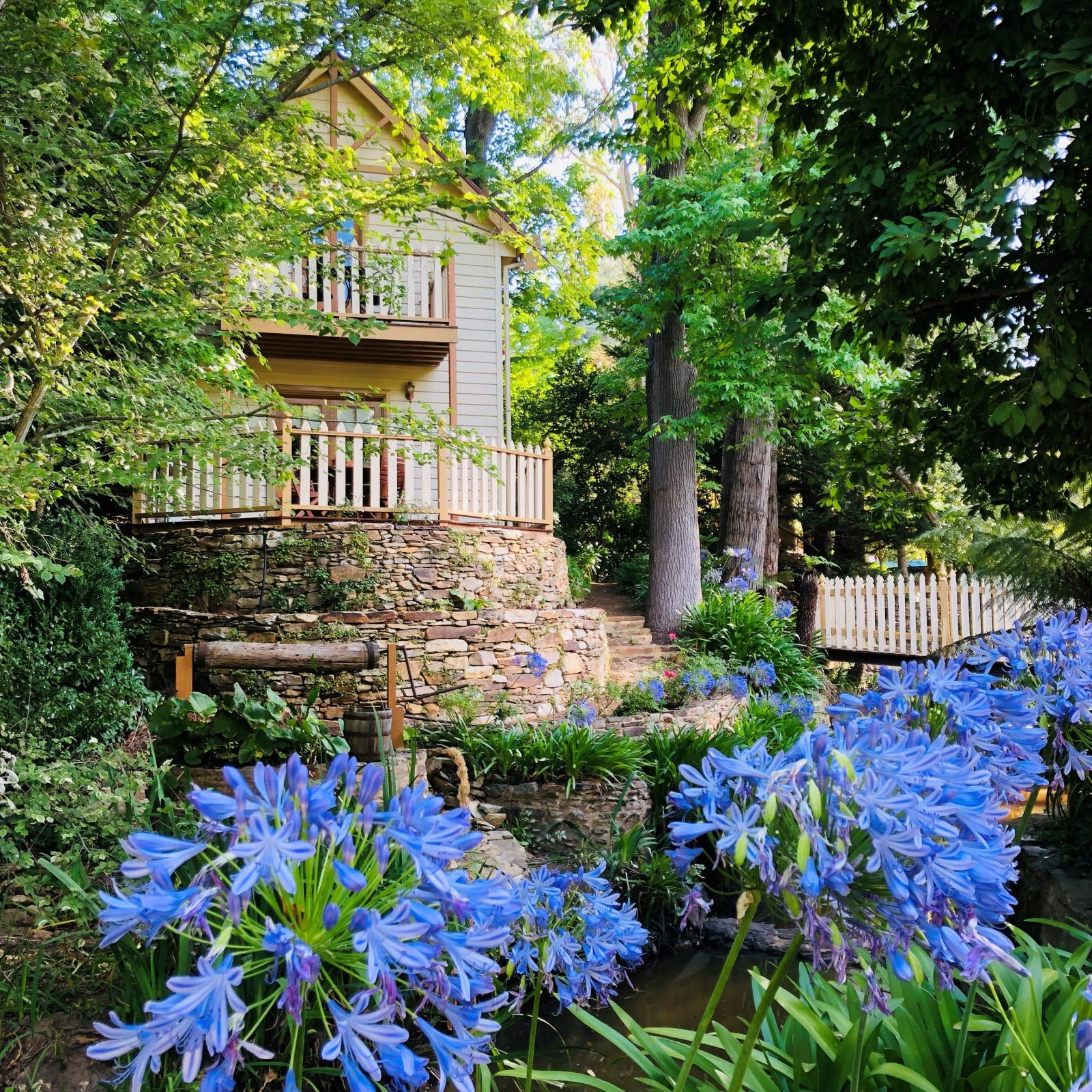 The garden is constantly changing and provides a very relaxing place to enjoy the Adelaide Hills