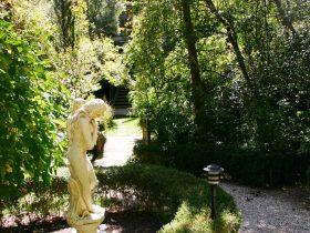 relax in beautiful gardens