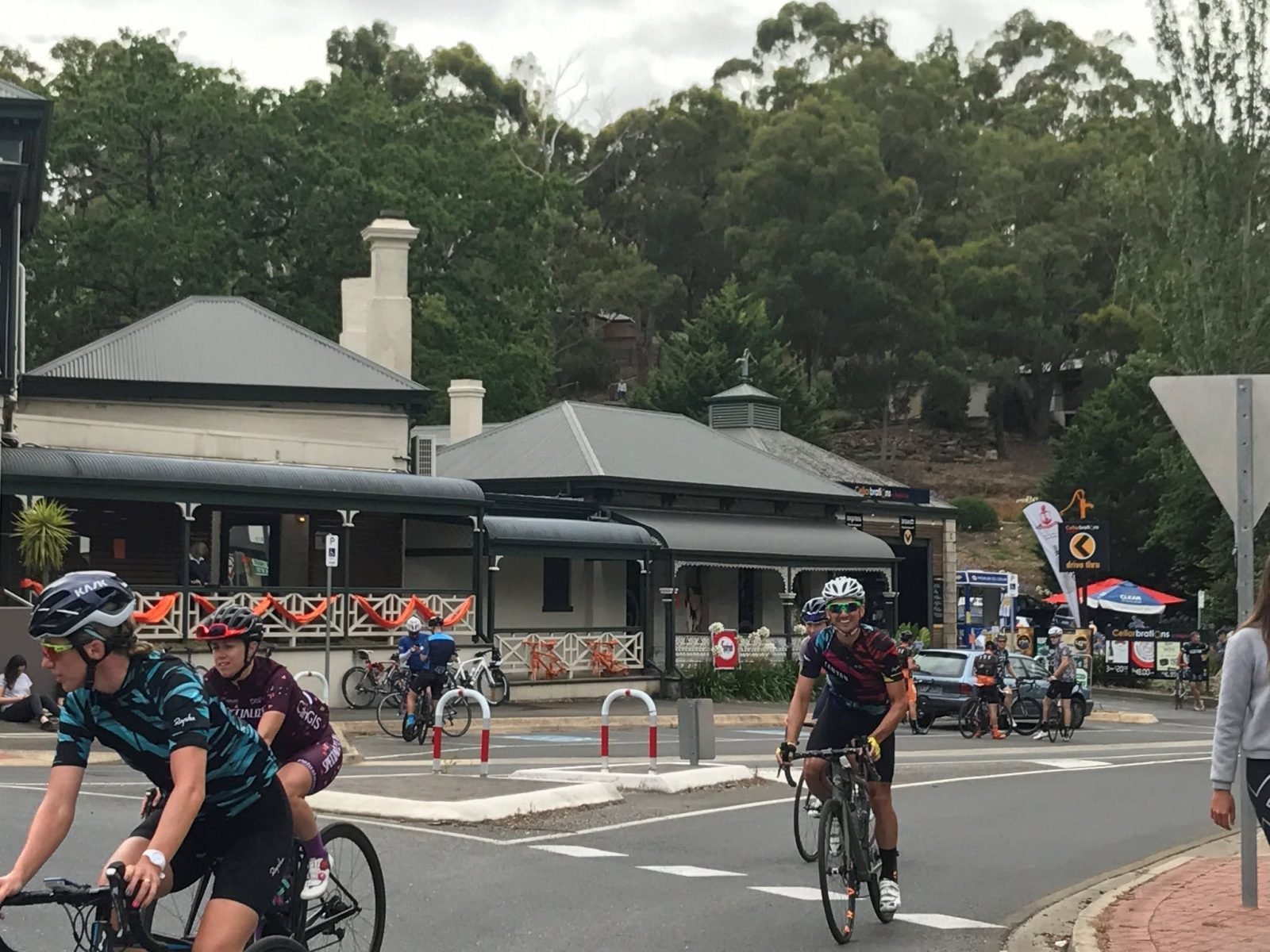 great spot to watch the tour down under