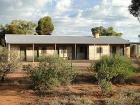 Your booking secures the whole building, no sharing with strangers. Flinders Ranges accommodation.