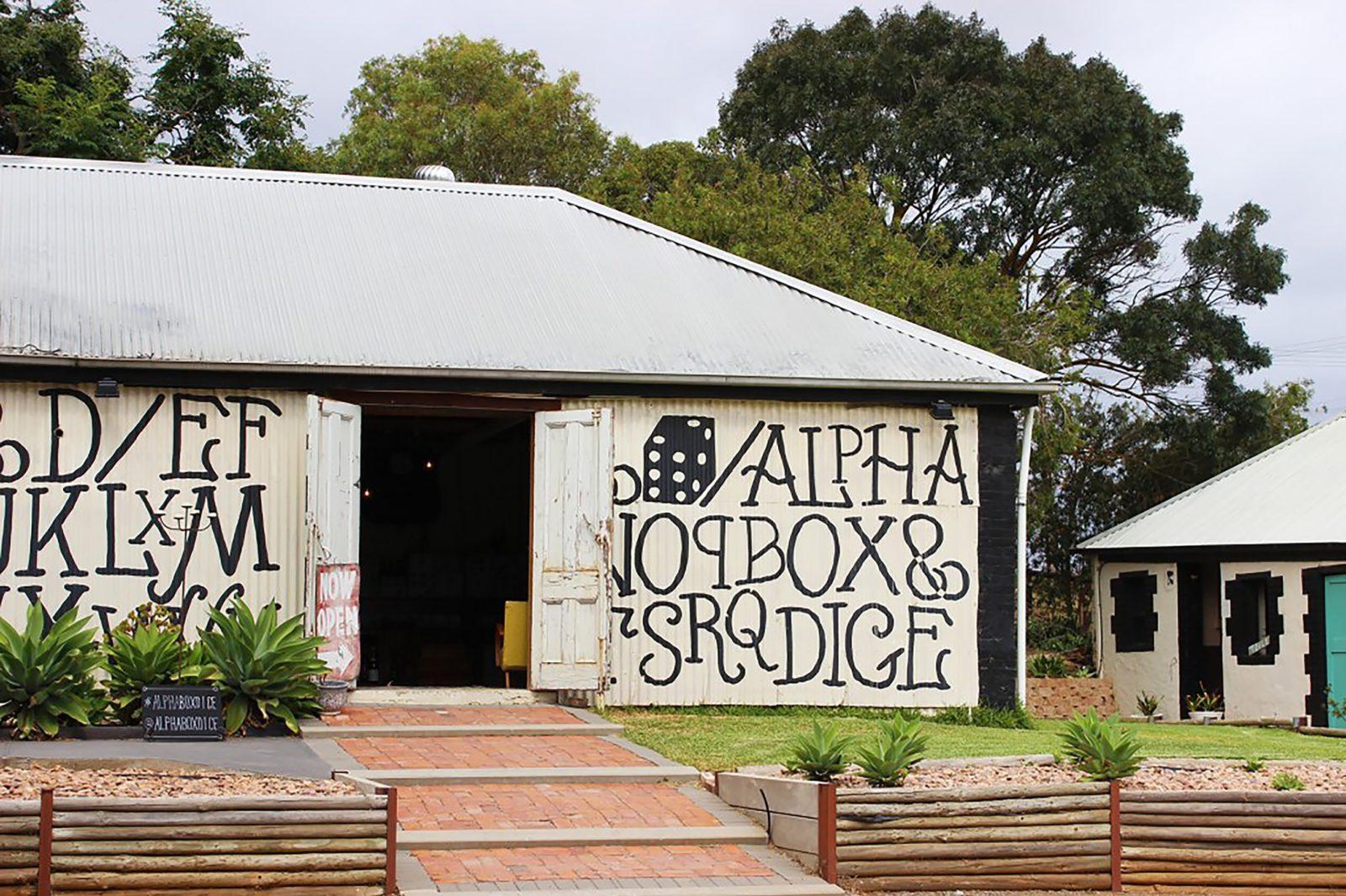 Alpha Box & Dice Cellar Door