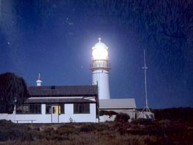 Althorpe Island Lighthhouse, Stenhouse Bay, Yorke Peninsula, South Australia