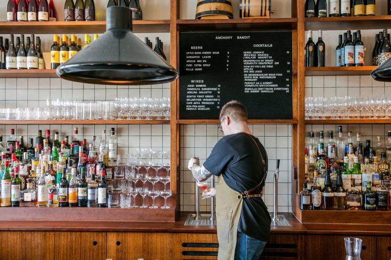 Back Bar, Amaros, Cocktails, Cocktail Bar