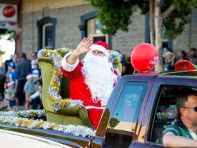 Father Christmas at Angaston