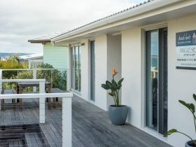 Sea views from your front deck