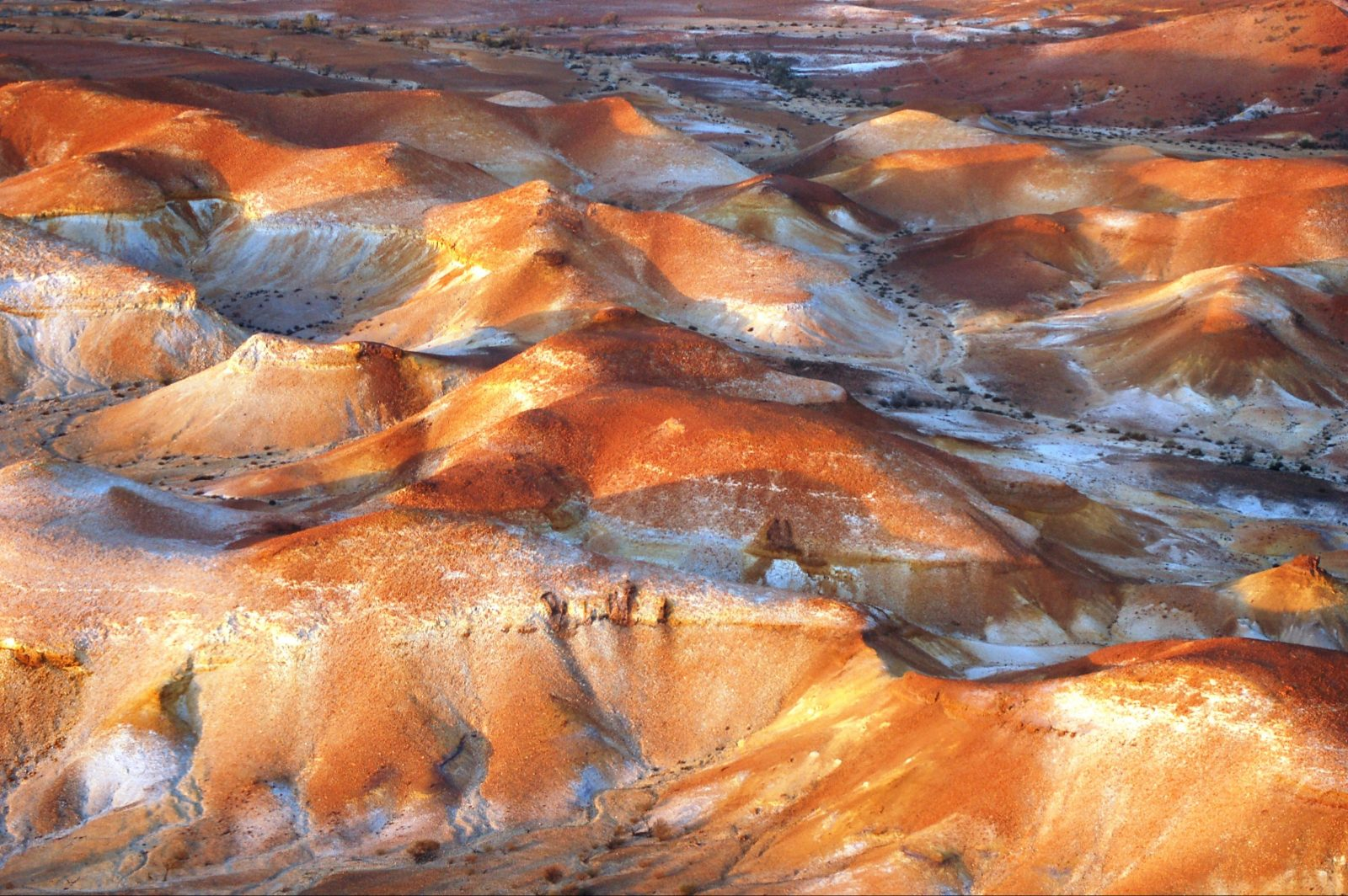 The Anna Creek Painted Hills
