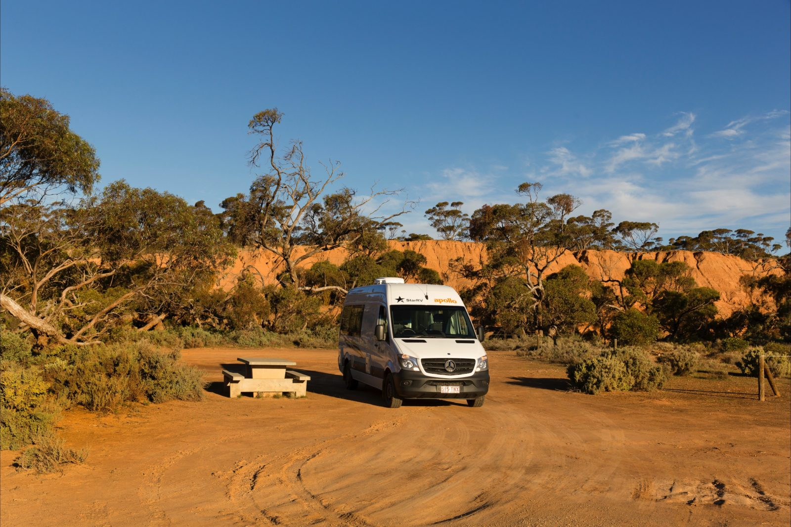 Apollo Euro Tourer in the SA outback