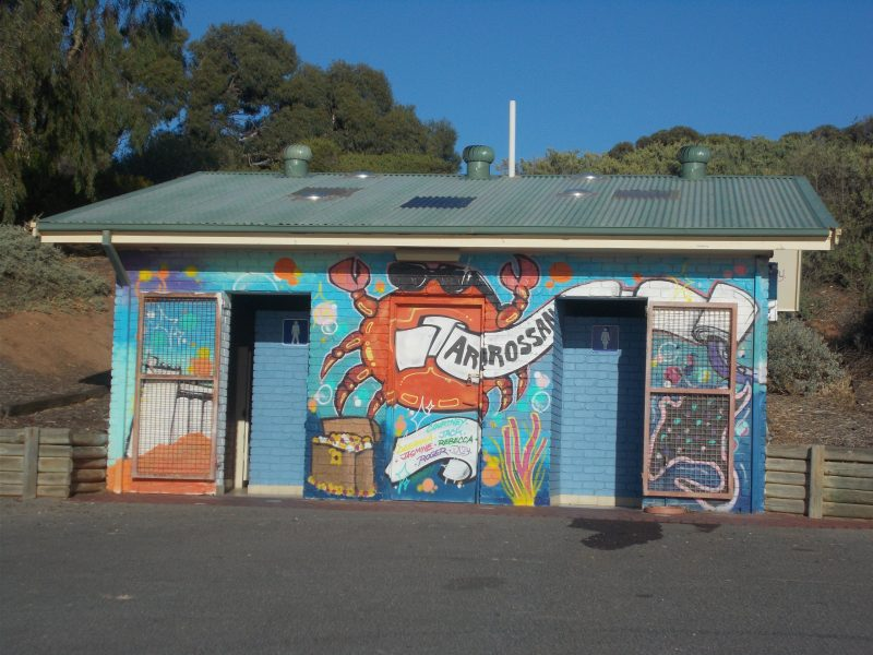 Mural painted by Year 12 students from Ardrossan Area School