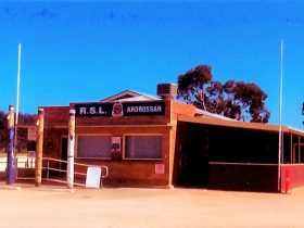 Ardrossan RSL Rooms located on the corner of West Tce and First St Ardrossan