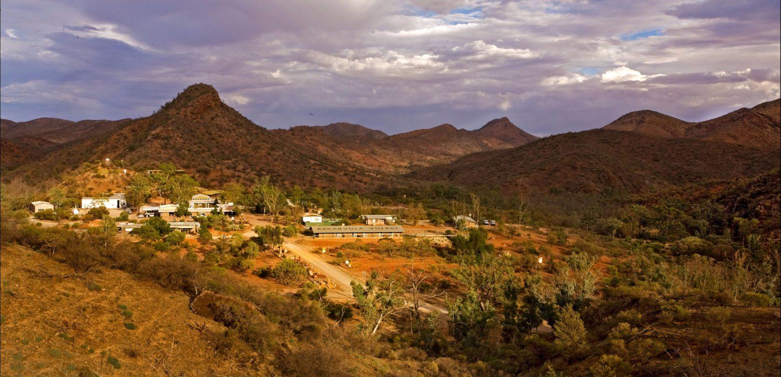 Arkaroola Village from West