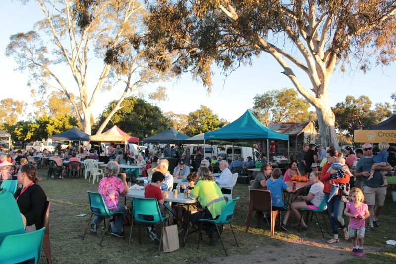 outside dining options at twilight market