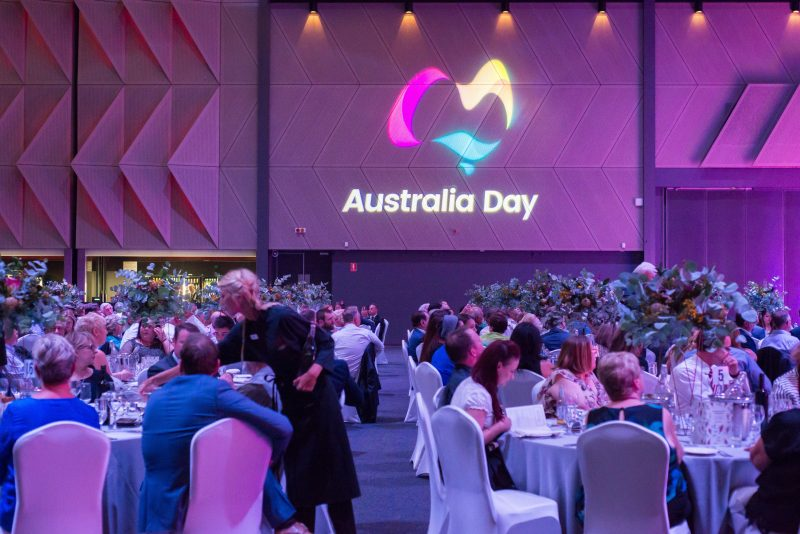 Australian of the Year Luncheon - people sitting at tables at the event