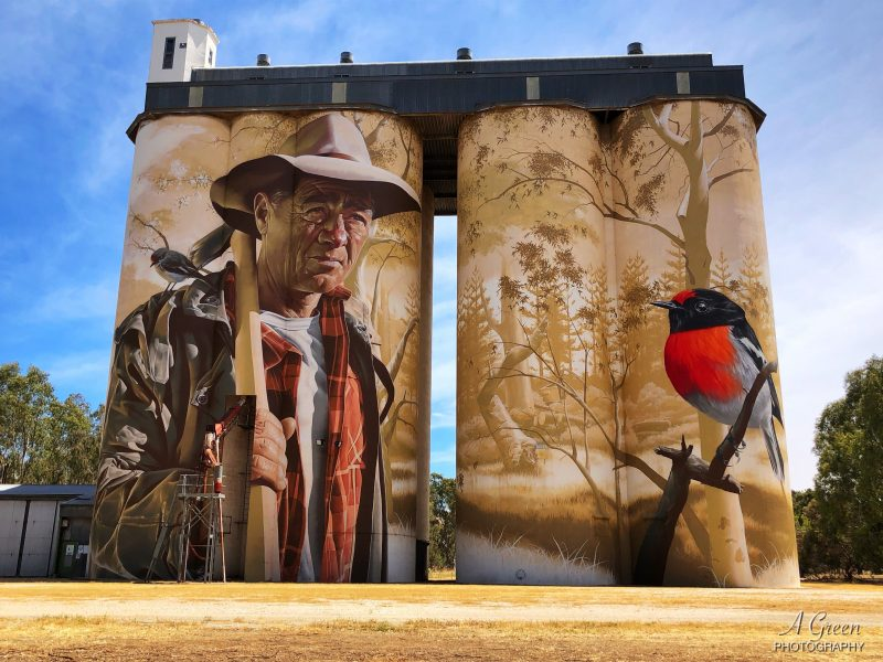 Wirabarra Silo Art