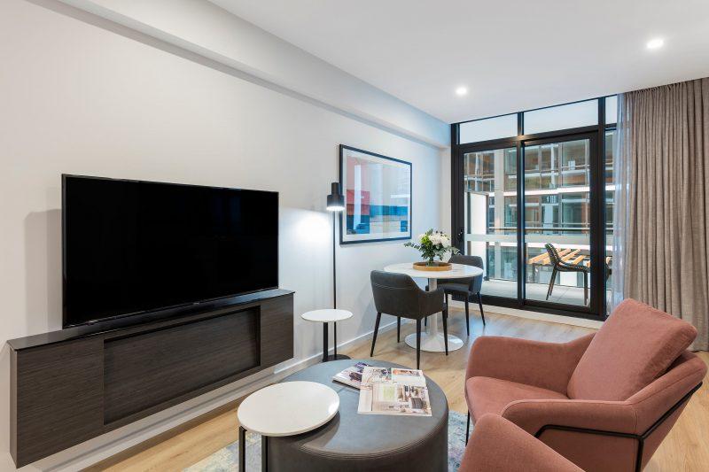 Avani Adelaide Residences-Avani Room-Living HR