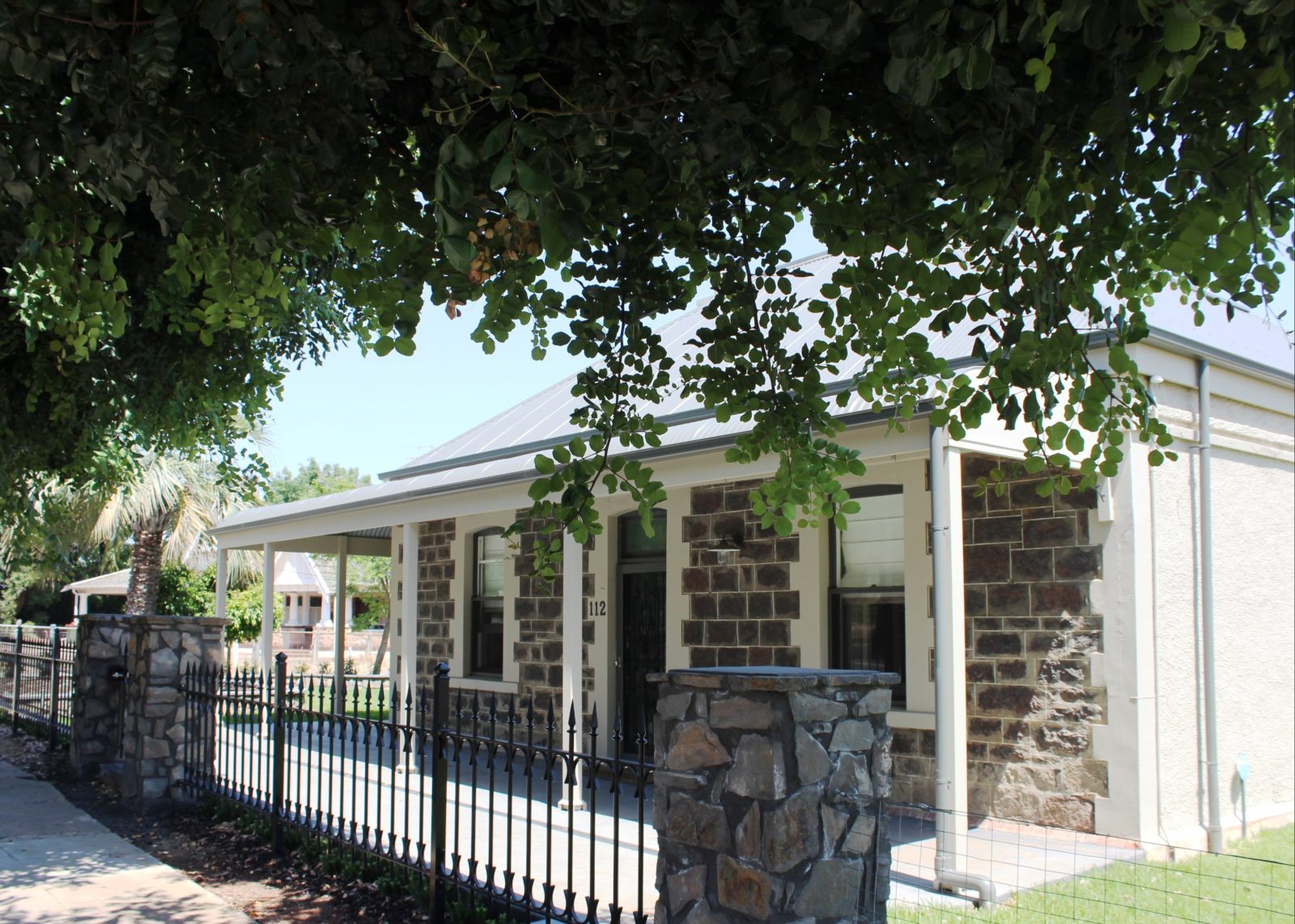 Image showing Front of house Stone facade of Barossa Bed & Breakfast