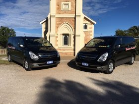 Vans for private or shared tours