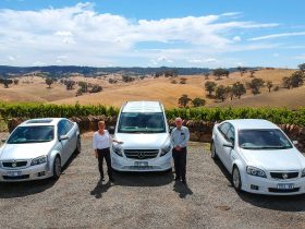 Barossa ExperienceTours fleet vehicles