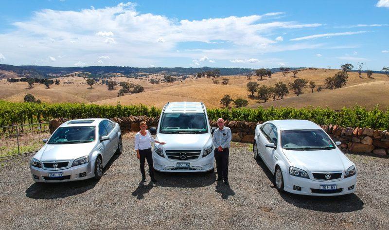 Barossa ExperienceTours fleet vehicles
