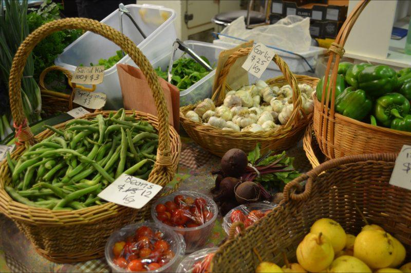 Fresh Seasonally Grown Produce