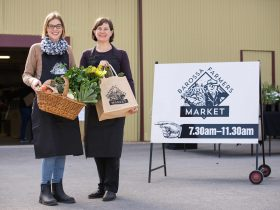 Barossa Farmers' Market is open every Saturday from 7.30am to 11.30am