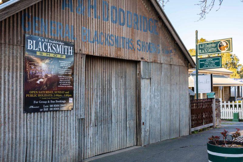 External photo of Angaston Blacksmith Shop & Museum - Doddridge Forge