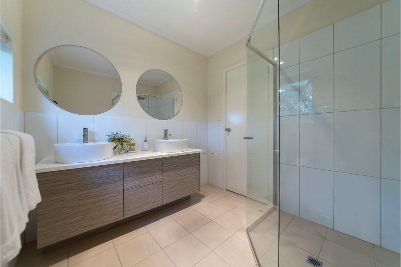 One of three bathrooms Barossa Idyll