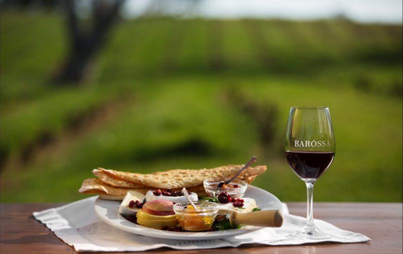Barossa wine and food