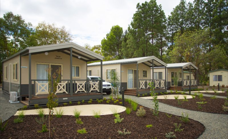 Park View Deluxe Cabins