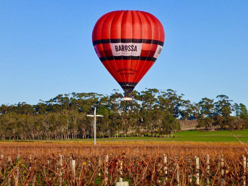 Ballooning over the Barossa