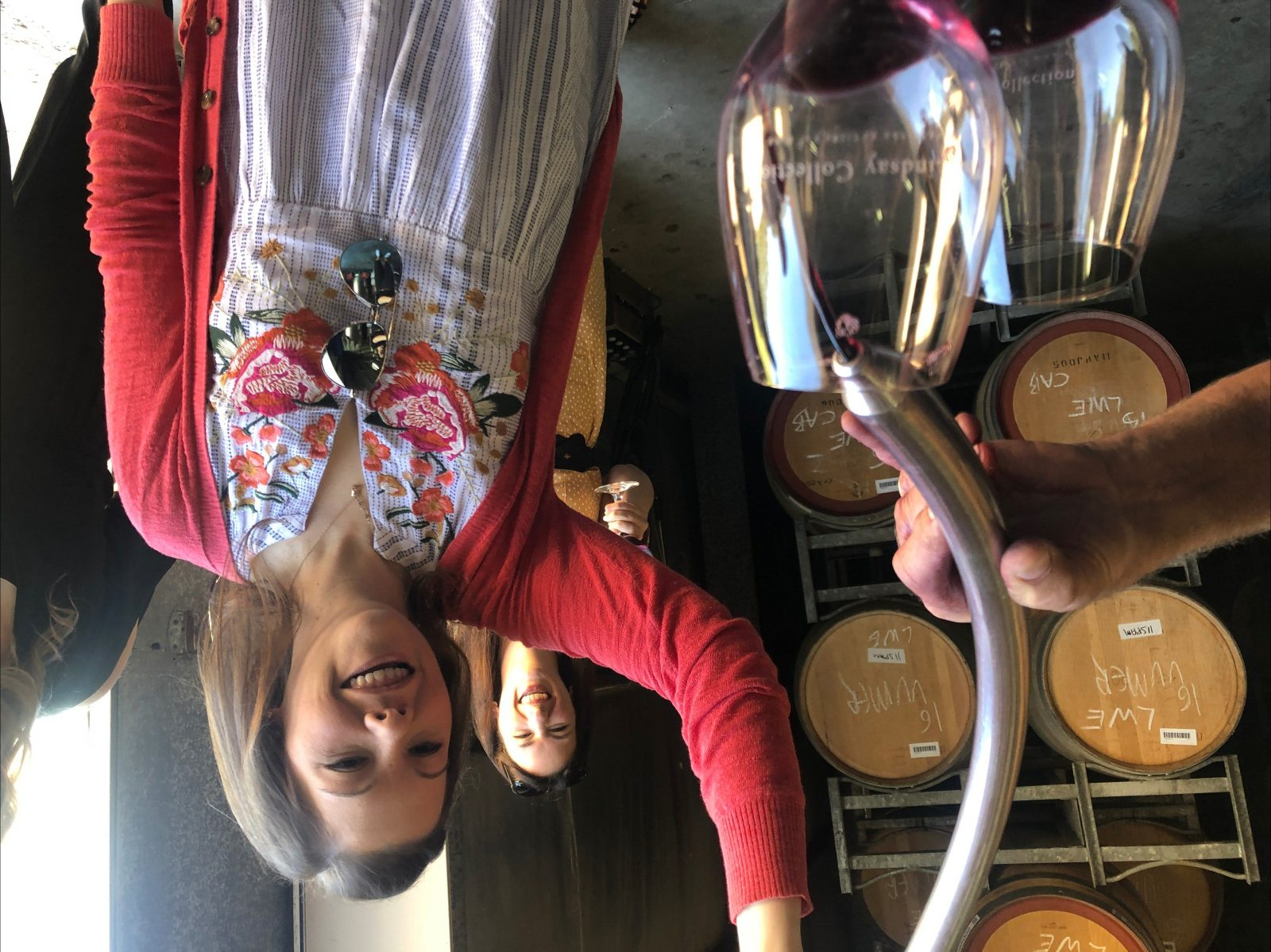 Get your hands dirty for barrel tasting
