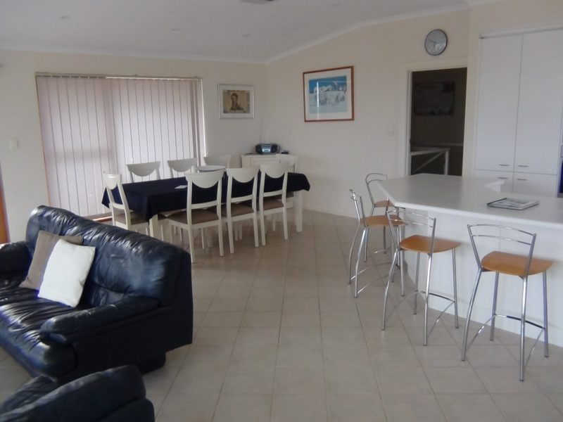 Dining, Kitchen and lounge area for all of the family