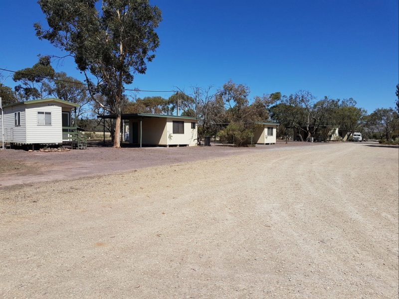 cabin, caravan park, country