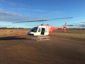 Bell 206 Jetranger Helicopter