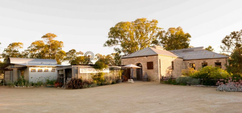 View of Bellweather Wines Cellar Door from carpark