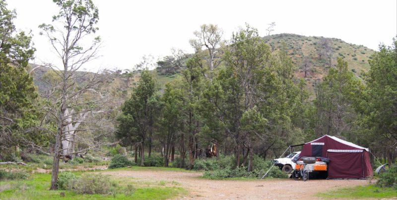 Cowbail campsite - remote camping