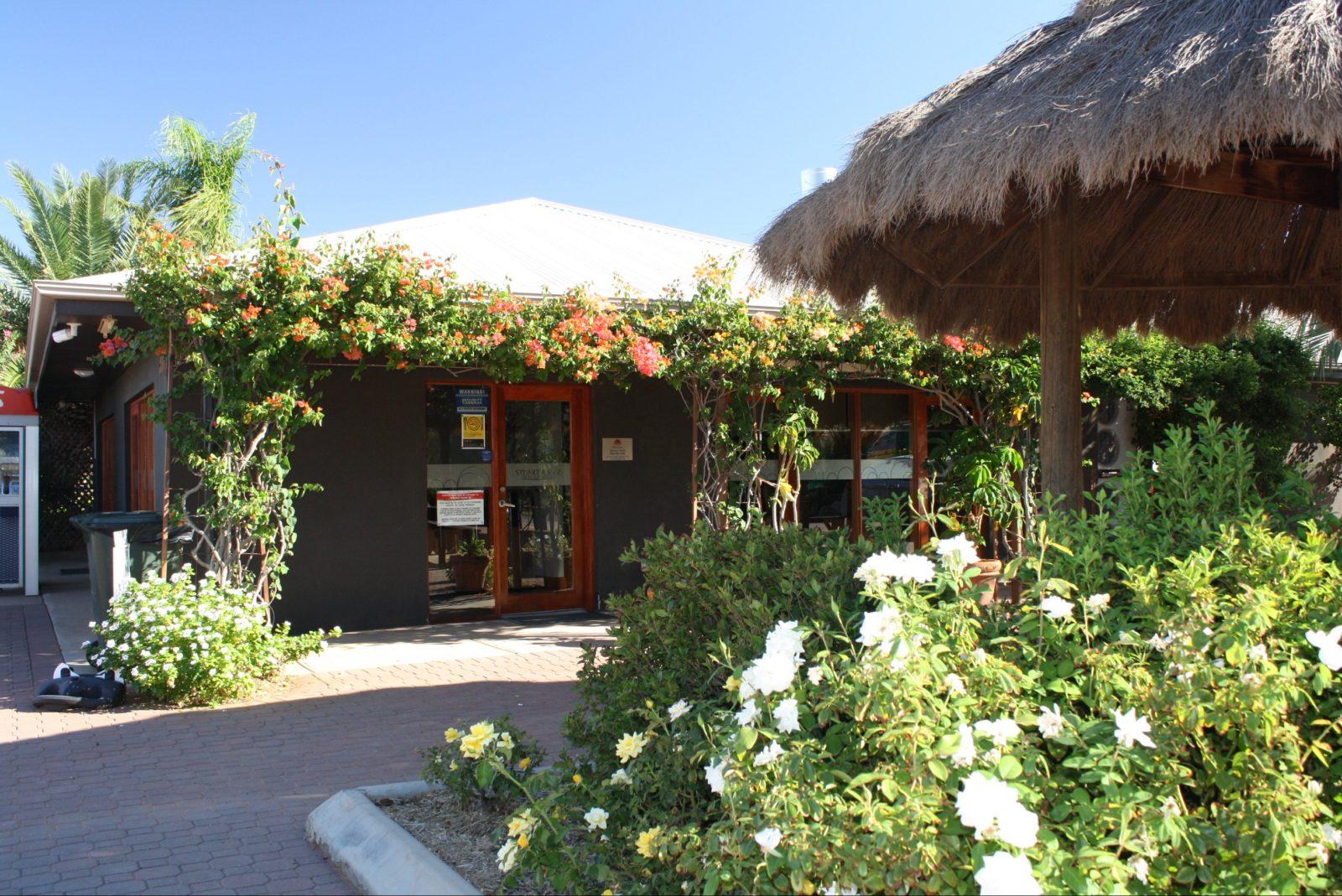 BIG4 Stuart Range Outback Resort reception