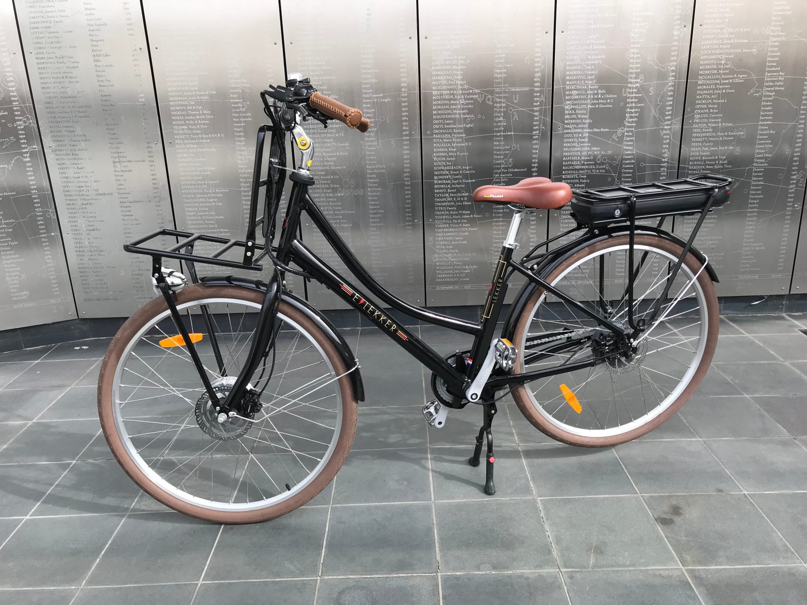 The Lekker Jourdan is a comfortable and easy ride to enjoy exploring the many picturesque areas