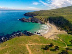 Stunning gem blowhole beach