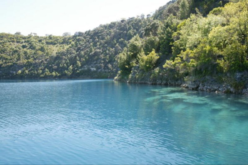 Blue Lake at Water Level